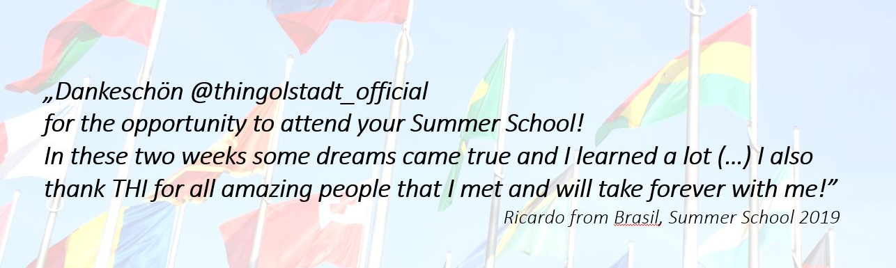 Words of thanks from a former participant from Brazil