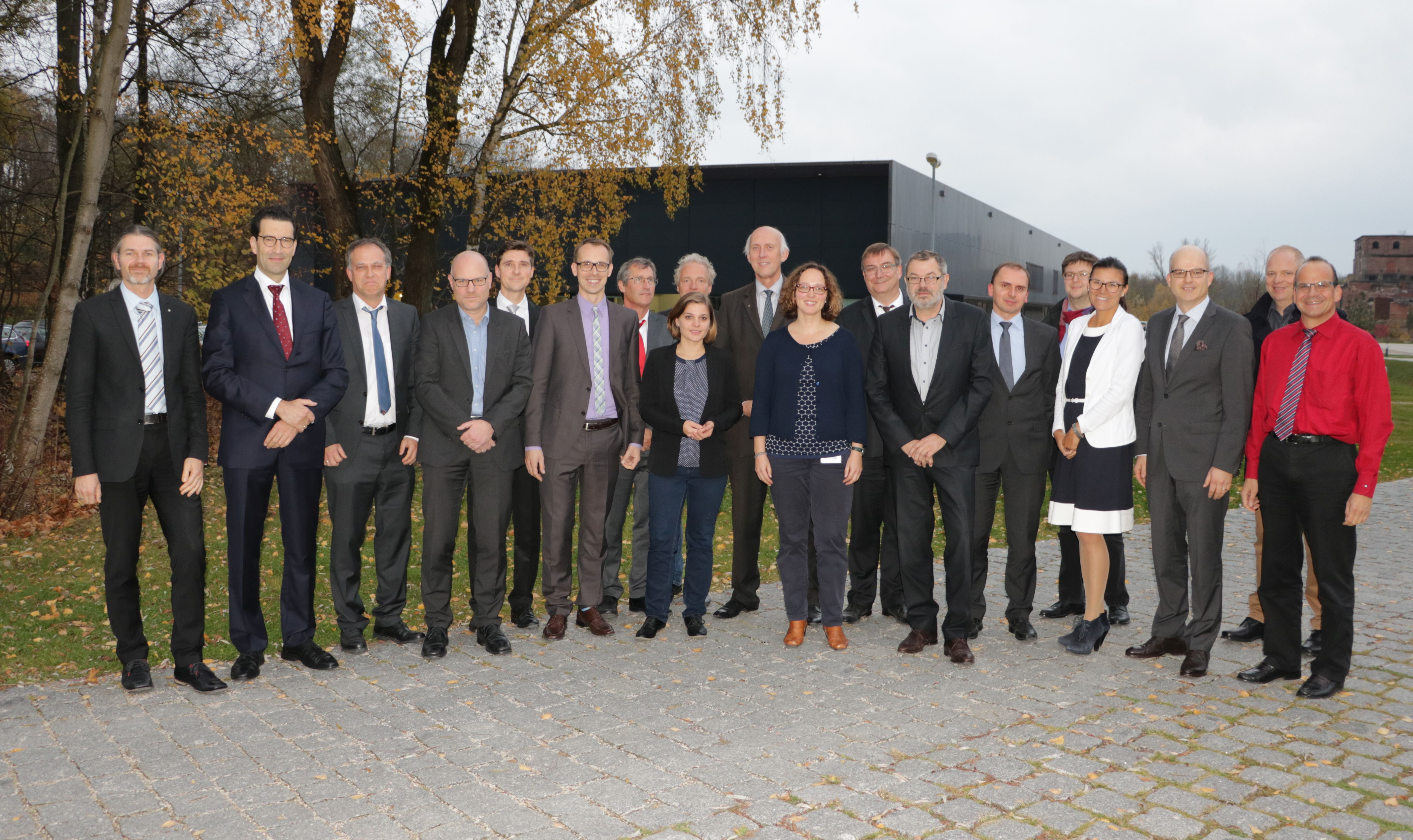 Participants of the inaugural meeting of the Scientific Advisory Board at THI on 7 November, 2017