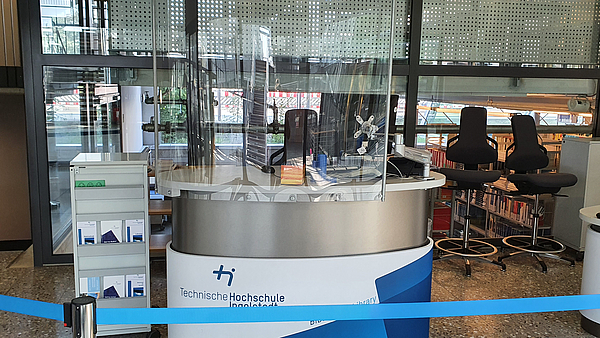 ServicePoint at the library