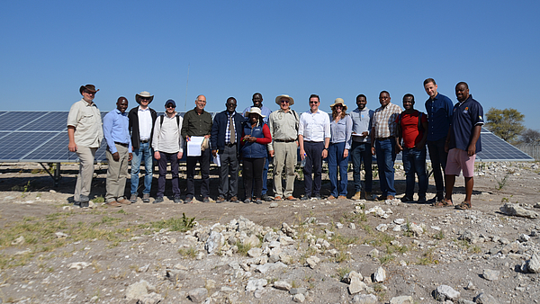 Group picture in Namibia