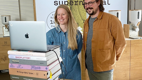 Figure: Amelie and Timo Sperber, the founders of supernutural GmbH