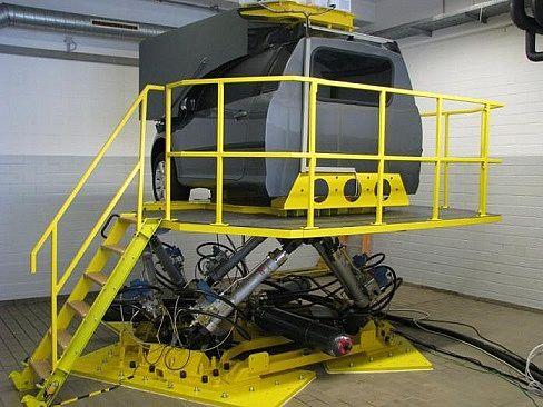 Driving Simulator (Hexapod)